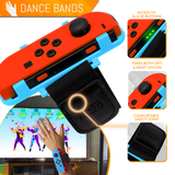Joy-Con Wrist Bands for Nintendo Switch - Orzly