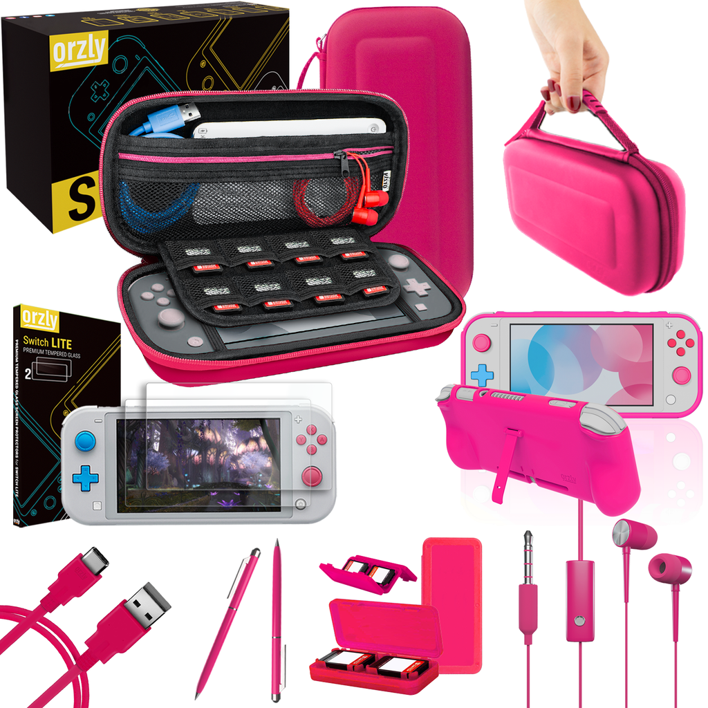 Essential Pack for Nintendo Switch Lite - Orzly