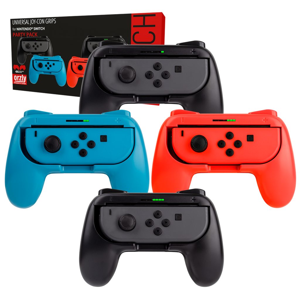 Nintendo Switch Joy-Con Grips Party Pack