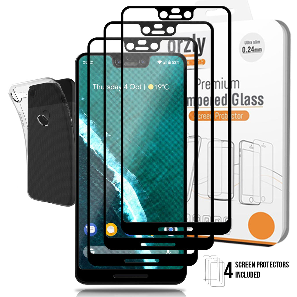 Google Pixel 3 XL Screen & Case Pack - Orzly
