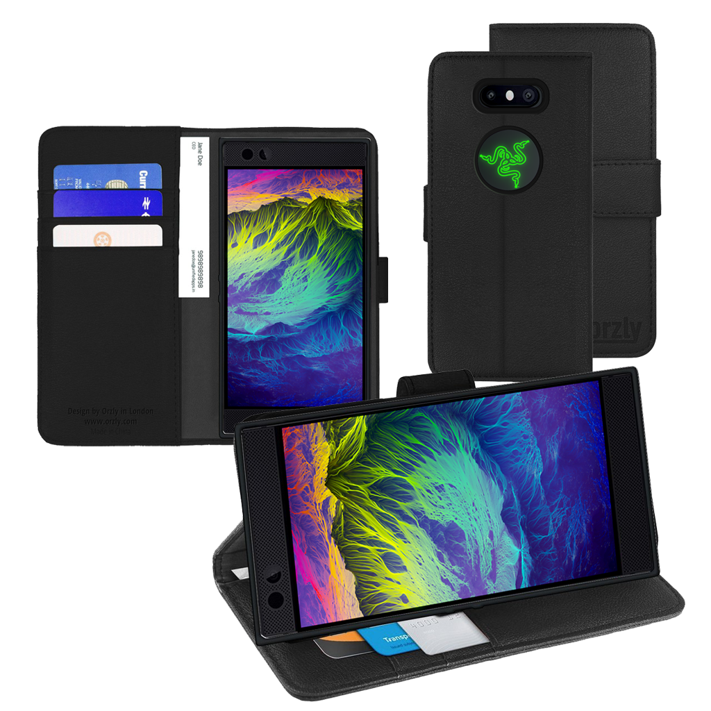 online store 10985 c3401 Razer Phone 2 Wallet case by Orzly