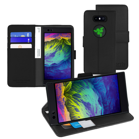Razer Phone 2 Wallet case by Orzly