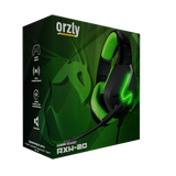 Orzly Gaming Headset for PC and Gaming Consoles: XBOX SERIES X & S, XBOX ONE, PS5, PS4, Nintendo Switch, & Google Stadia, Stereo sound with noise cancelling mic, Hornet RXH-20 Sagano - Orzly