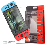 Orzly Premium Tempered Glass Screen Protector for Nintendo Switch