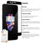 OnePlus 5 Pro-Fit Tempered Glass Screen Protector - TWIN PACK - Orzly