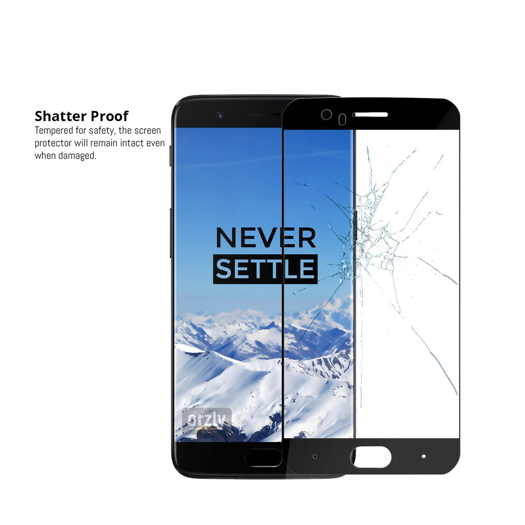 OnePlus 5 Pro-Fit Tempered Glass Screen Protector - QUAD PACK - Orzly
