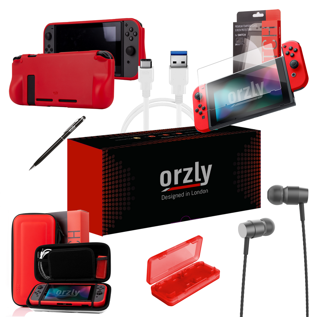 Essential Pack for Nintendo Switch - Orzly