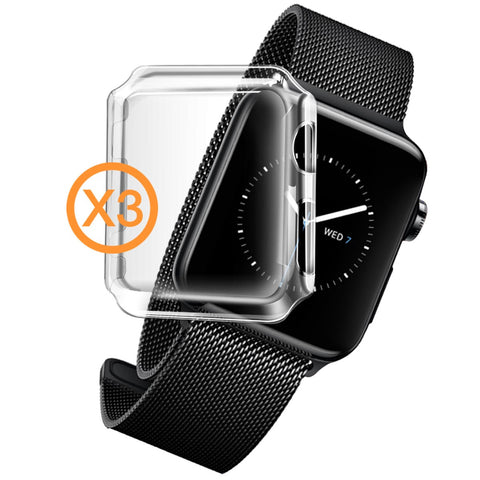 InvisiCase for Apple Watch Series 2 - 3 in 1 Pack