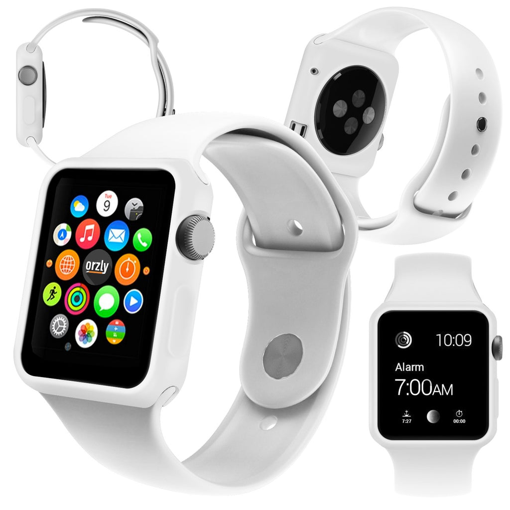 Face Plates for Apple Watch - 5 in 1 Pack - Orzly