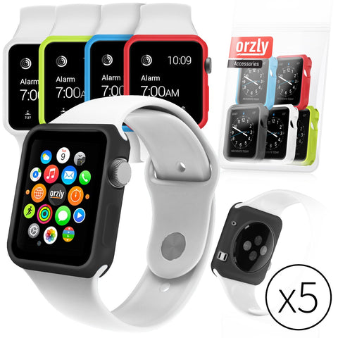 Face Plates for Apple Watch - 5 in 1 Pack