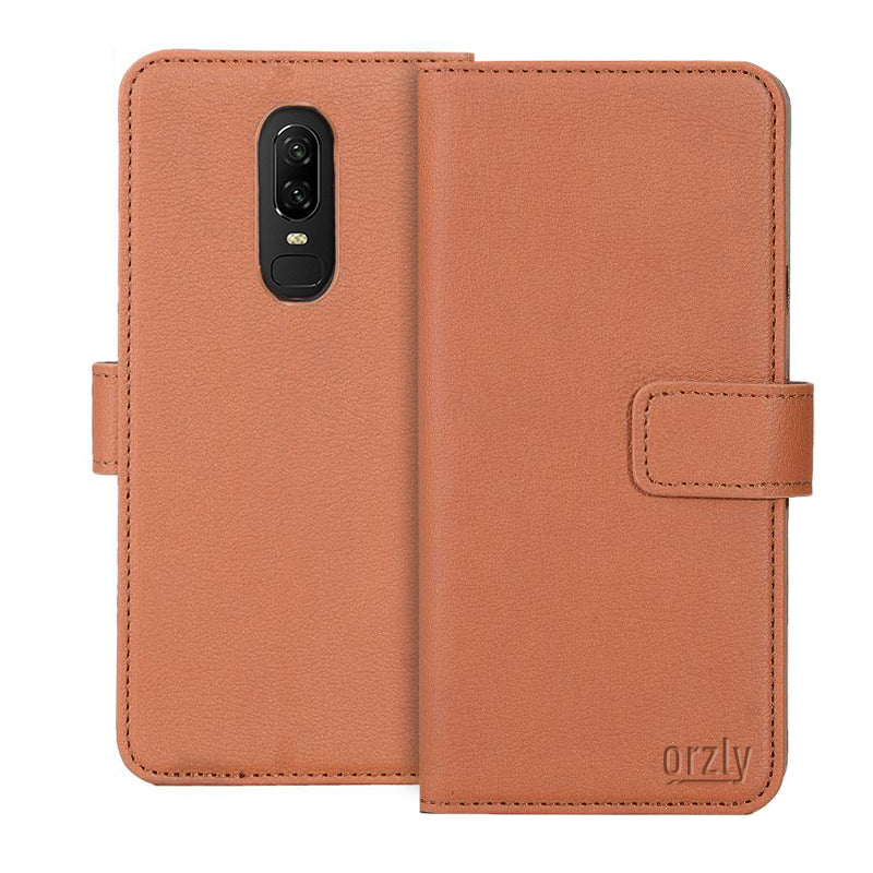 Multifunctional Wallet Case for OnePlus 6 - Orzly