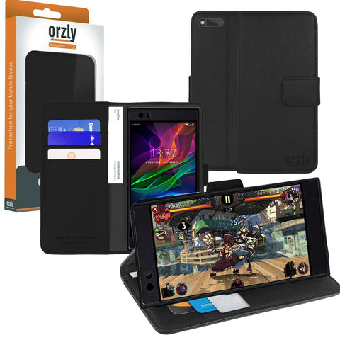 Orzly Multifunctional Wallet Case for Razer Phone