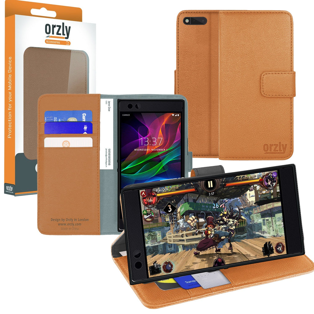 Orzly Multifunctional Wallet Case for Razer Phone - Orzly