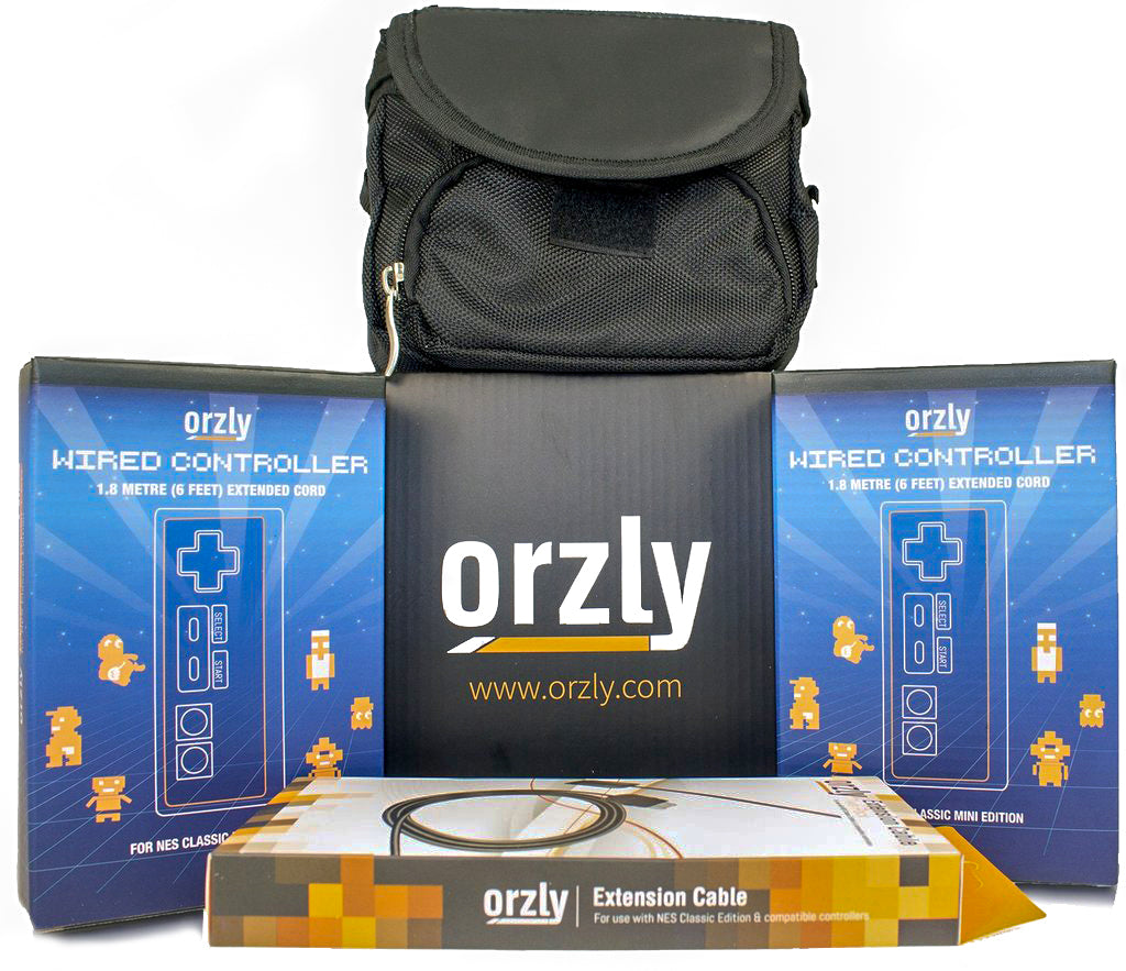 Orzly Ultimate Pack for NES Classic Edition - Orzly