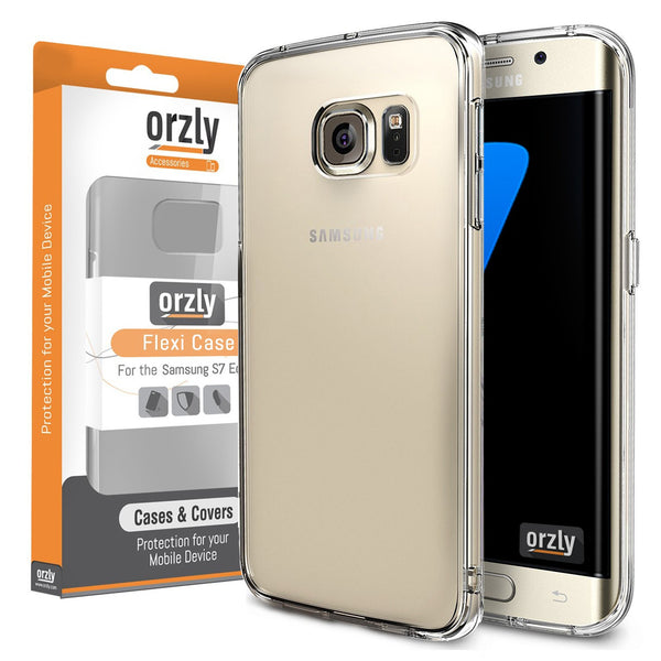 FlexiCase for Samsung Galaxy S7/ S7 Edge - Orzly