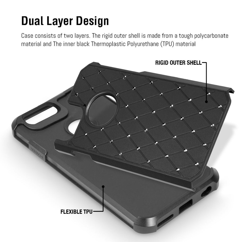 Duo-Armour Shimmer Case for iPhone 8/ 7 - Orzly