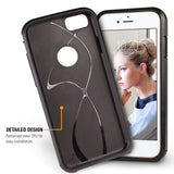 Orzly Duo-Armour Shimmer Case for iPhone 8/ 7 - Orzly