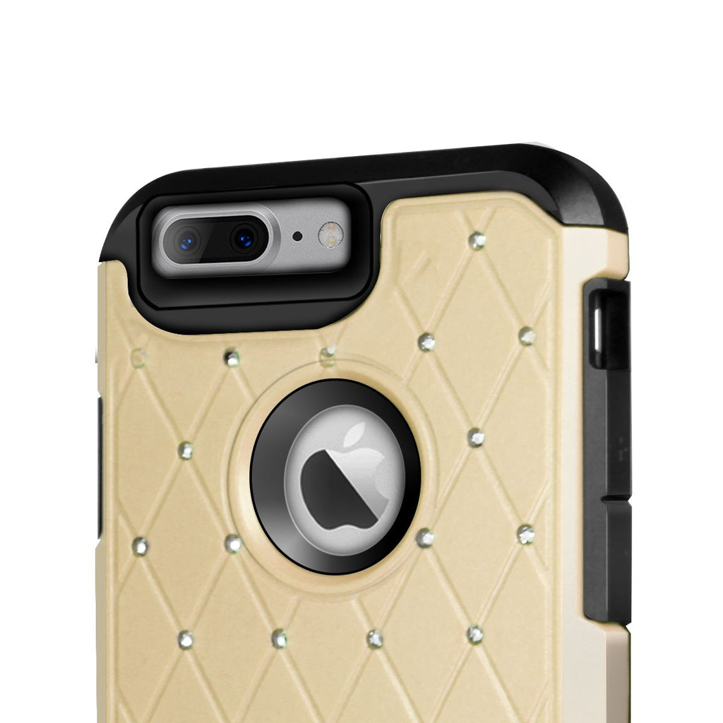 Orzly Duo-Armour Shimmer Case for iPhone 8+/ 7+ - Orzly