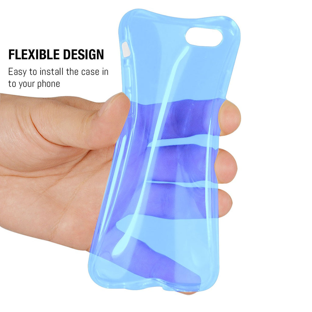 FlexiCases for iPhone 8/ 7/ SE 2020 - 5 in 1 Pack - Orzly