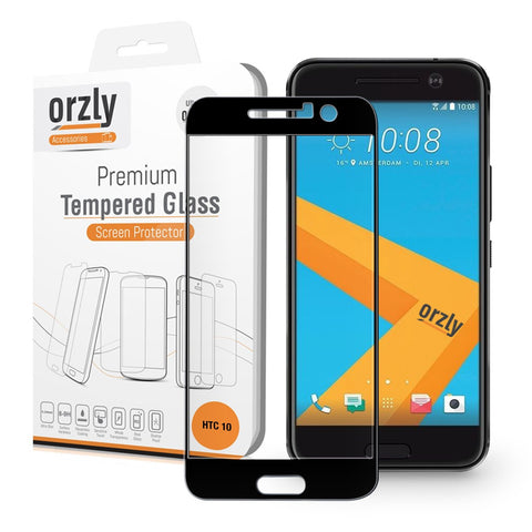 Pro-Fit 2.5D Tempered Glass Screen Protector for HTC 10 - Orzly