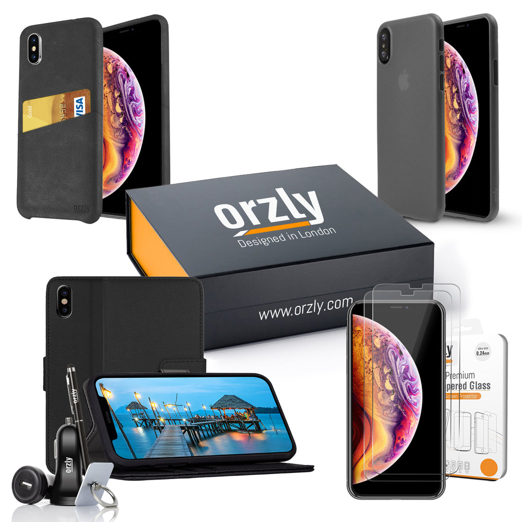 Essential Pack for iPhone Xs Max - Orzly