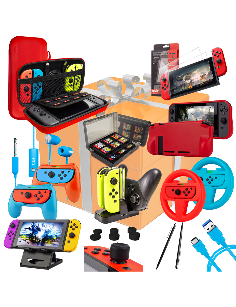 Ultimate Geek Pack for Nintendo Switch - Orzly