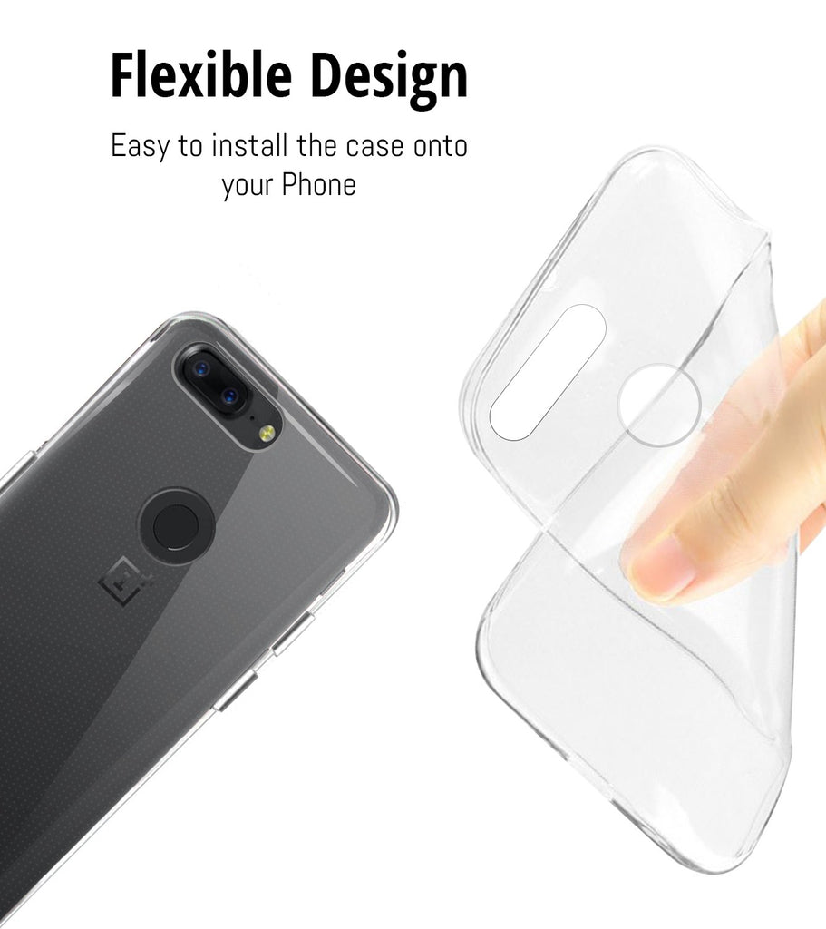 FlexiCase for OnePlus 5T - Orzly