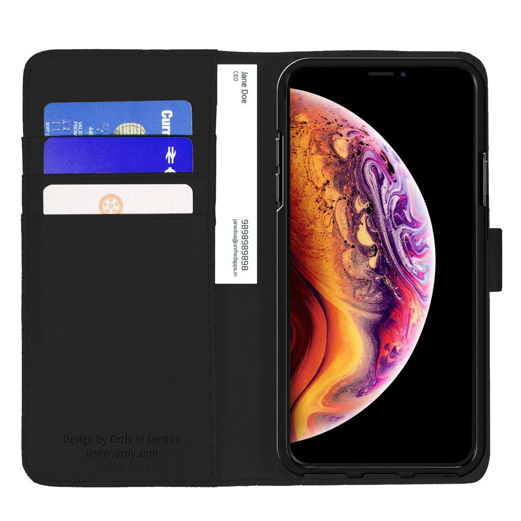 Multifunctional Wallet Case for Apple iPhone XR - Orzly