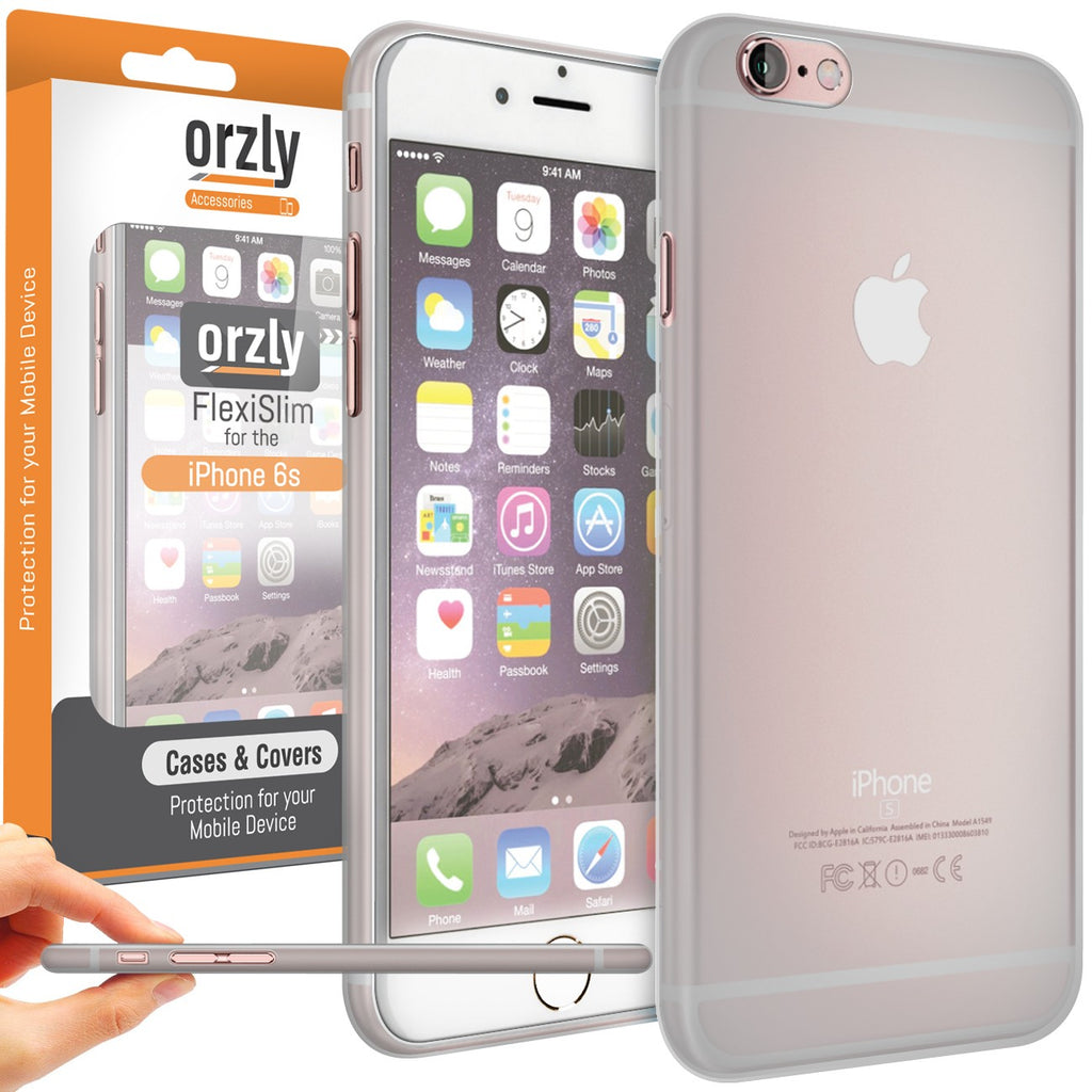 Orzly FlexiSlim for iPhone 6s/ 6s+/ 6/ 6+ - Orzly