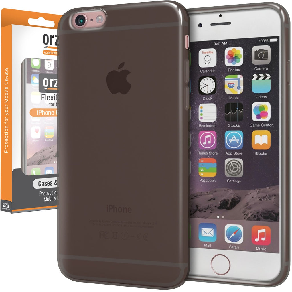 Orzly FlexiCase for iPhone 6s/ 6s+/ 6/ 6+ - Orzly