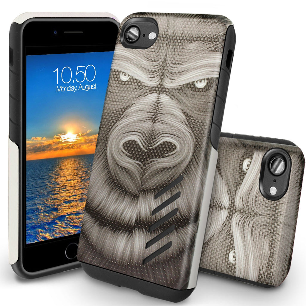 Grip Pro Art Case for iPhone 8/ 7/ SE 2020 - Orzly