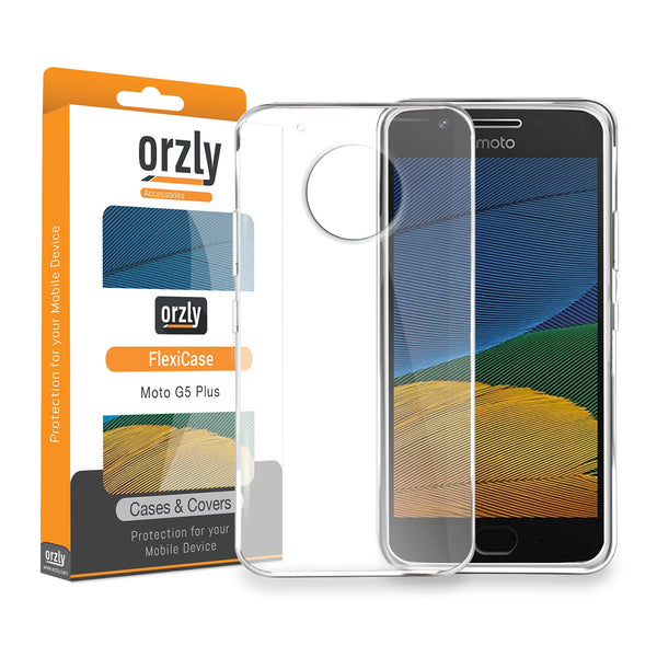 FlexiCase for Moto G5 - Orzly