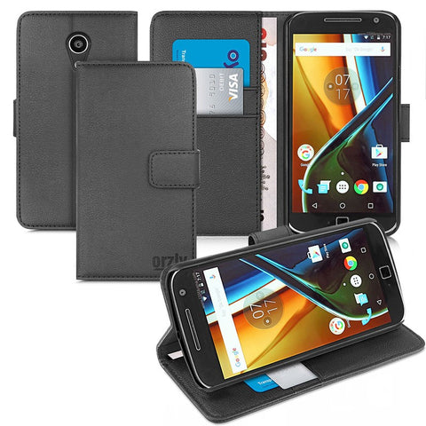 Multifunctional Wallet Cases for Moto G4 /G4 Plus - Orzly