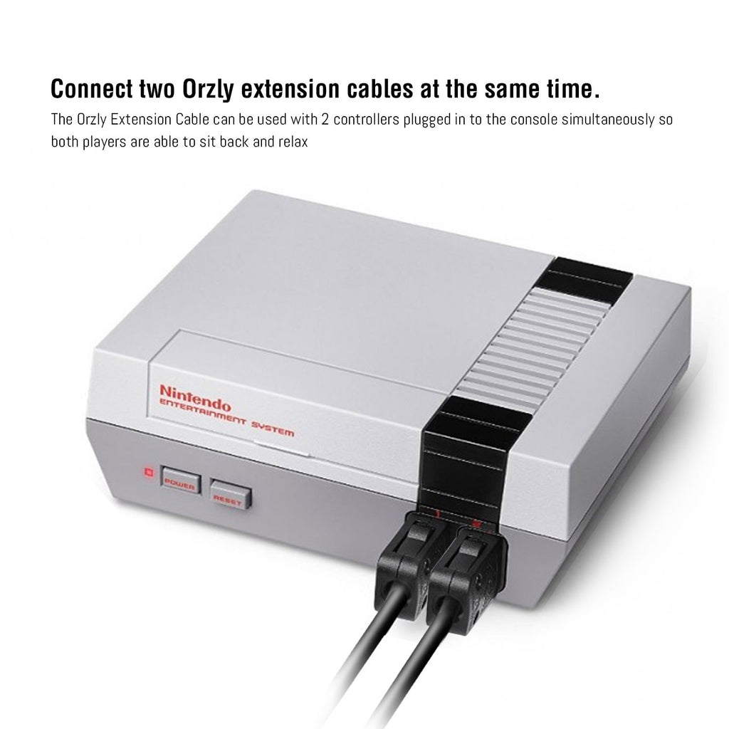 Controller Extension Cable for SNES Mini / NES Mini Classic Edition - Orzly