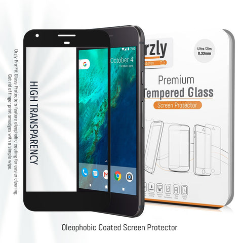 Pro-Fit 2.5D Tempered Glass Screen Protector for Pixel - Orzly