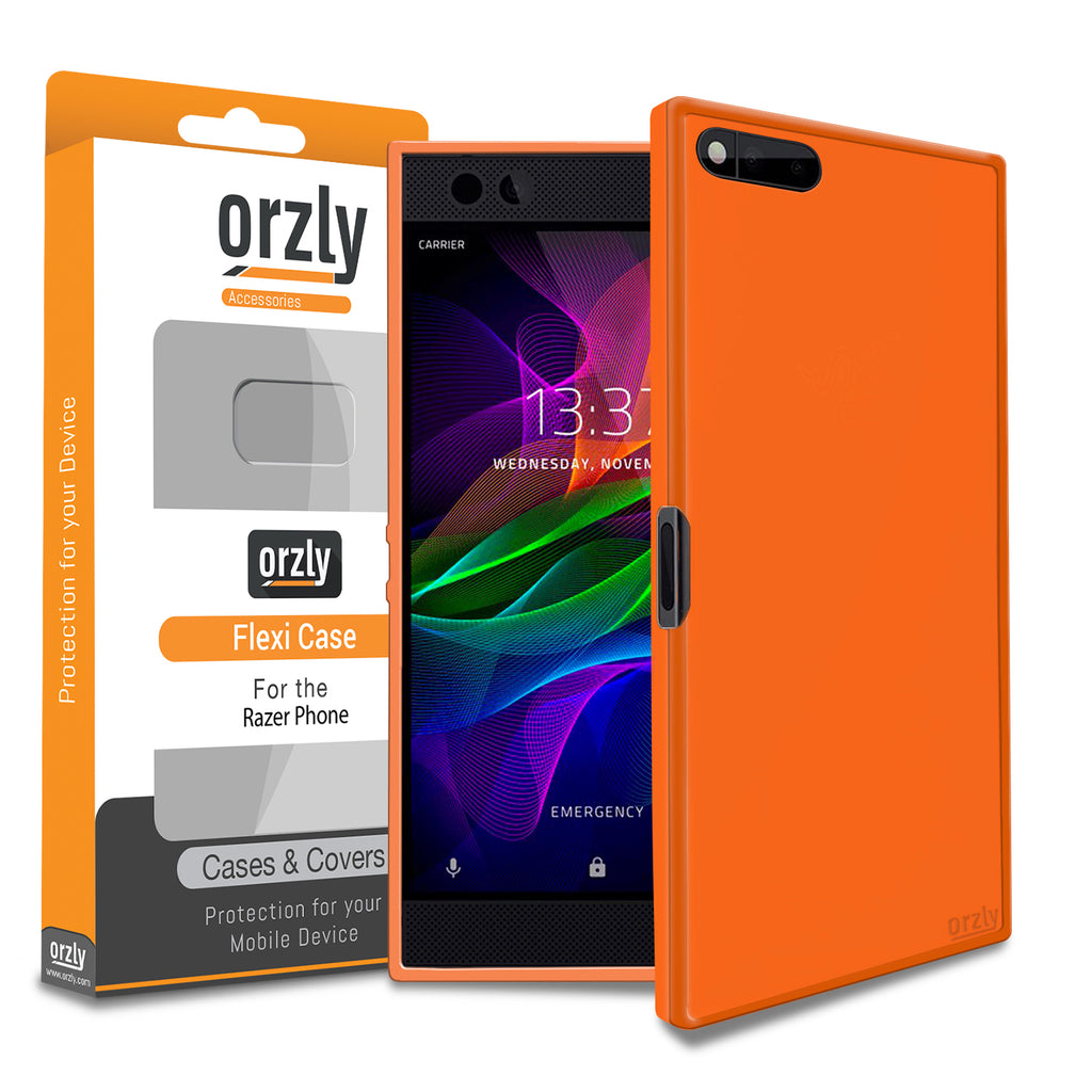 Orzly FlexiCase for Razer Phone - Orzly