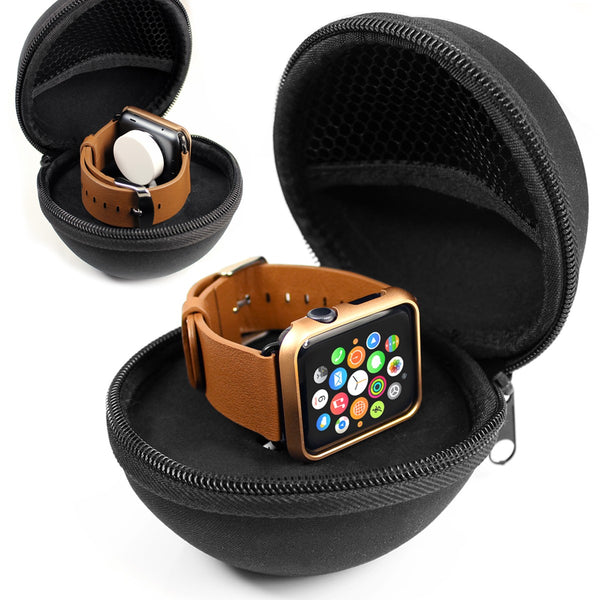 Travel Vault for Apple Watch & Cable - Orzly