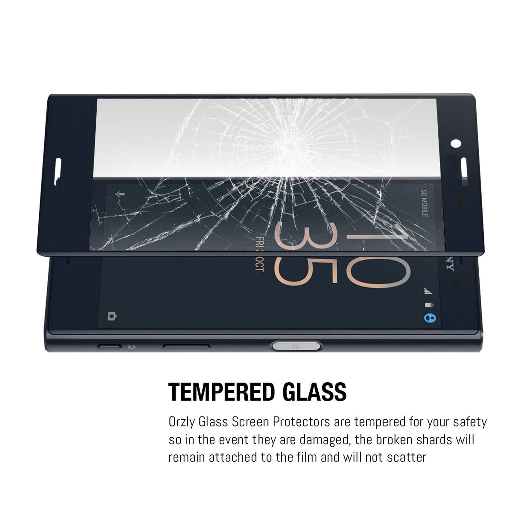 Pro-Fit Tempered Glass Screen Protector for Xperia X Compact - Orzly