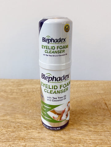 Blephadex Foaming Cleanser - Blepharitis natural treatment
