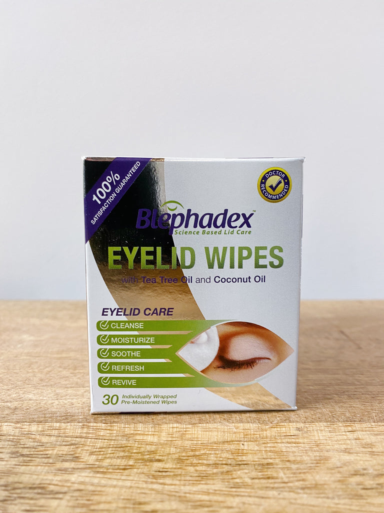 Blephadex Eyelid Wipes - Blepharitis Natural treatment