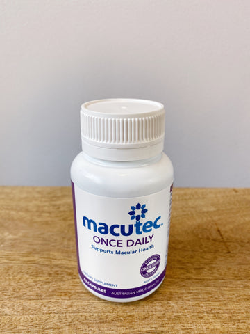 Macutec 120 Macula Degeneration Eye Supplements Australian Made Macula Degeneration Treatment