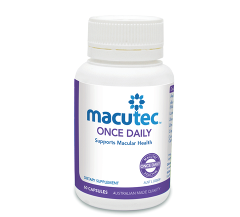 Macutec Once Daily - 60 Capsules
