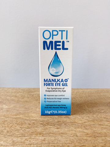 Optimel Manuka Forte Eye Gel Natural Dry Eye treatment