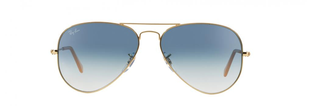 Ray Ban Aviator Gold Blue