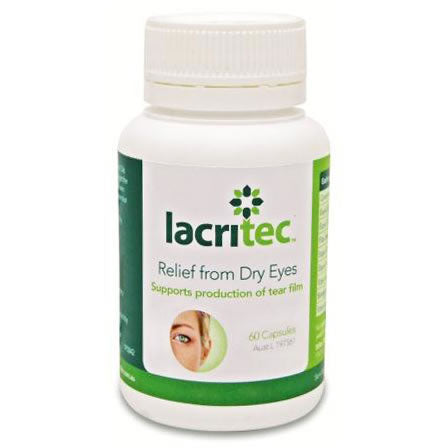 Lacritec Dry Eye Supplement - 60 capsules