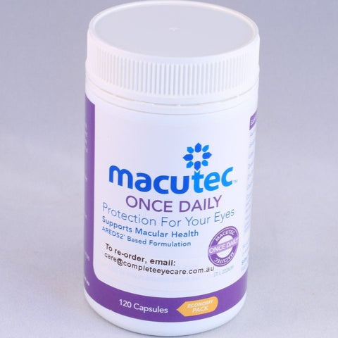 Macutec Once Daily - 120 Capsules