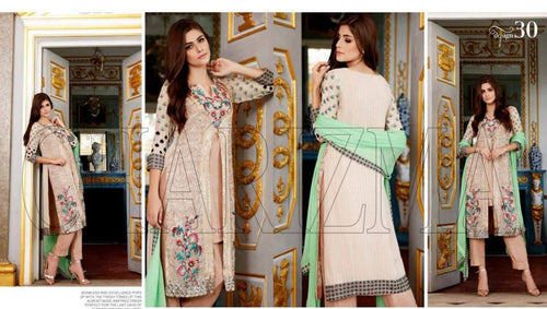Charizma Luxury Chiffon Vol-4 suit 30
