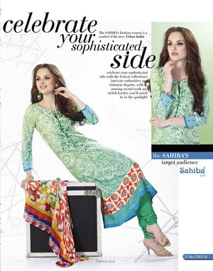 Sahiba - Essenza 2014 suit 7003B