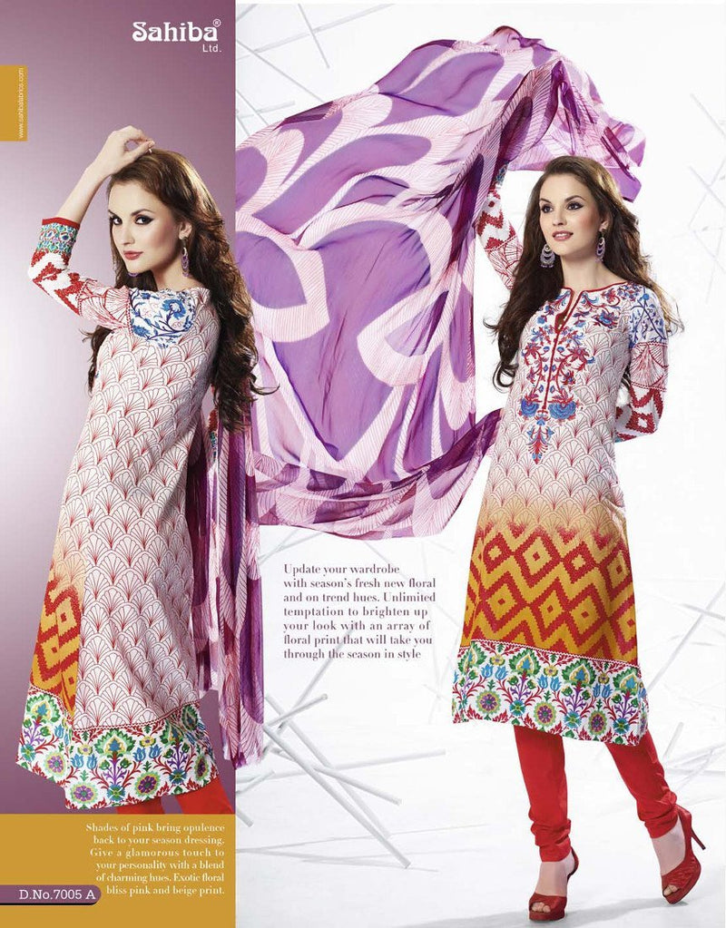 Sahiba - Essenza 2014 suit 7005A