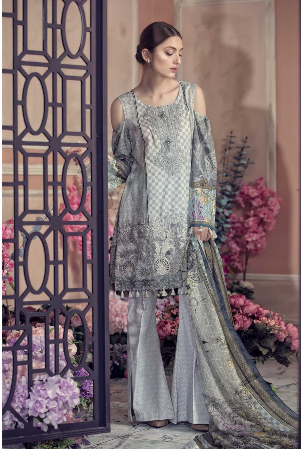 Aayra Spring Lawn suit D-301B